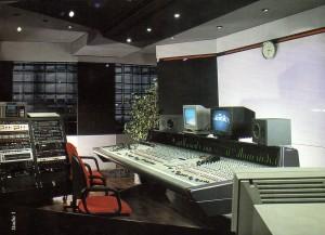 Paul Wijenberg Studio's studio 1, waar de tunes zijn geproduceerd.