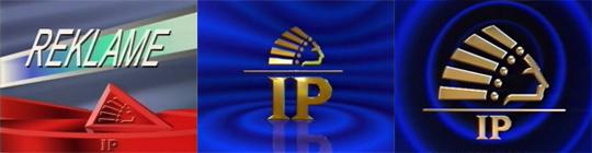 (Diverse uitingen met het beroemde IP Indiaan logo. Dit logo werd ook gebruikt bij de buitenlandse RTL-zenders)
