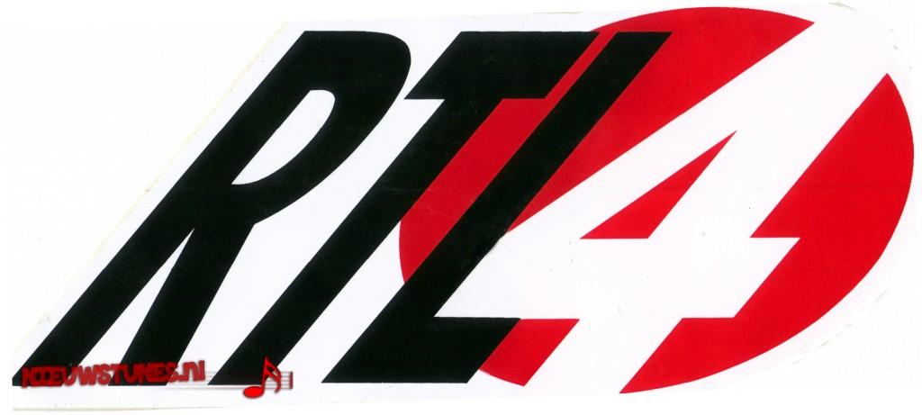 (Het logo van RTL, een viertje in een cirkel is ontworpen door een Luxemburgse designer, 1990)